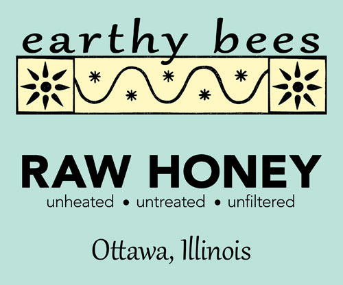 Earthy Bees label
